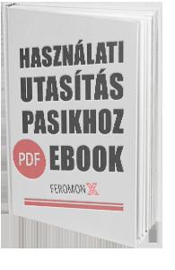 Használati Utasítás Pasikhoz könyv eBook Feromon X